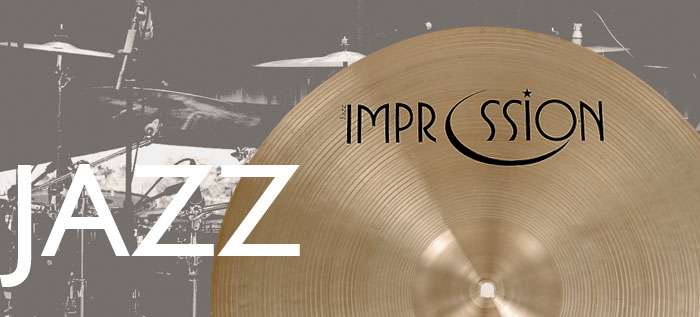 Impression Cymbals Jazz Series