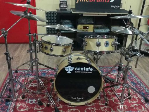 "Batería santafé Drums Piccolo Custom set (shell set 20""-12""-16"" / caja 14"")/ [ex-demo]"