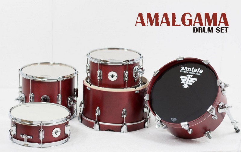 santafe drums set amalgama