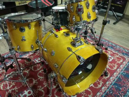 "Batería santafé Drums Compact Set 18""-10""-14"" Custom Yellow"