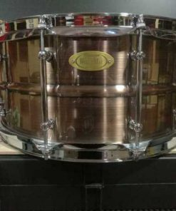Snare Drum Worldmax Black Dawg Brass Brushed Red Copper 14x6,5""