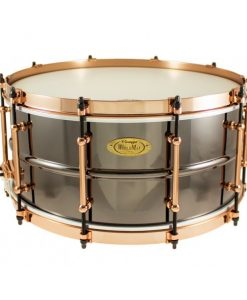 Snare Drum Worldmax Black Dawg Brass Aztec Gold Vintage 14x6,5""