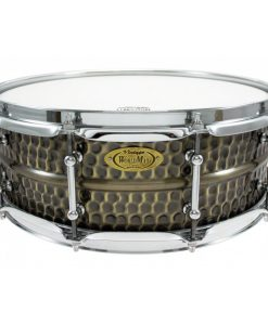 Snare Drum Worldmax Black Dawg Brass Hammered 14x5""