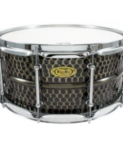 Snare Drum Worldmax Black Dawg Brass Hammered 14x6,5