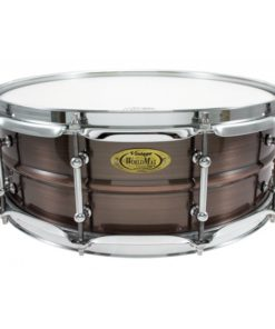 Snare Drum Worldmax Black Dawg Brass Brushed Red Copper 14x5