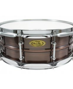 Snare Drum Worldmax Black Dawg Brass Brushed Red Copper 14x5""