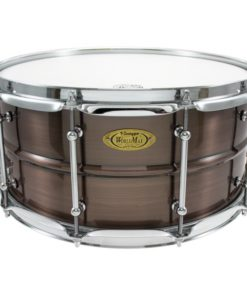 Snare Drum Worldmax Black Dawg Brass Brushed Red Copper 14x6,5
