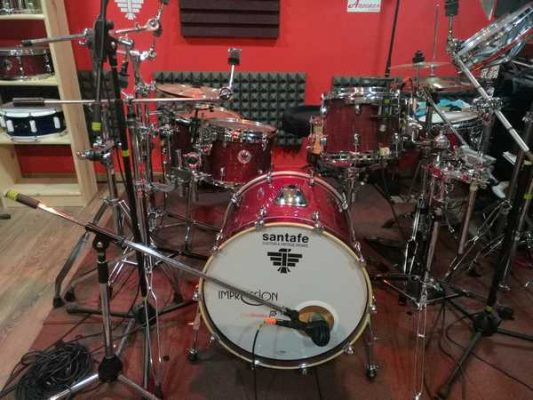 Batería santafé Drums Advance Series Abedul (shellsets)