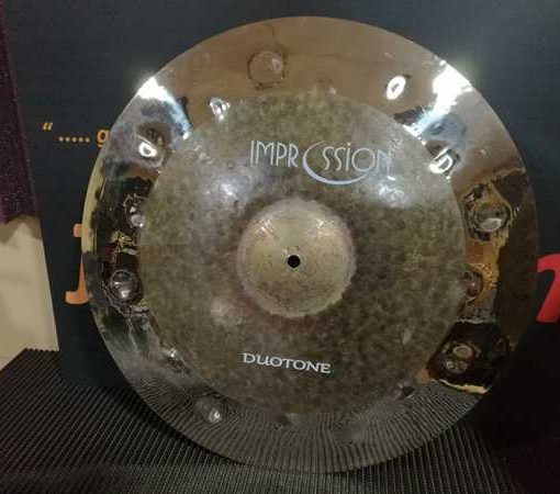 impression cymbals duotone series crash