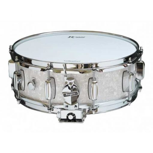 """Snare Drum Rogers 14X05"""" Dyna-Sonic White Marine Pearl (lugs B&B)"""