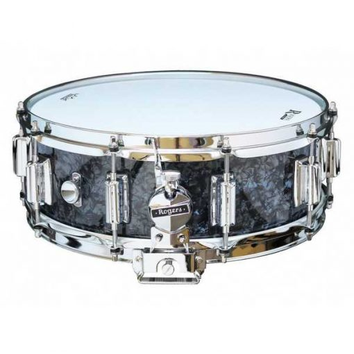 "Snare Drum Rogers 14X05"" Dyna-Sonic Black Pearl (lugs Beavertail)"