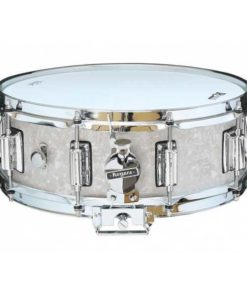 "Snare Drum Rogers 14X05"" Dyna-Sonic White Marine Pearl (lugs Beavertail)"