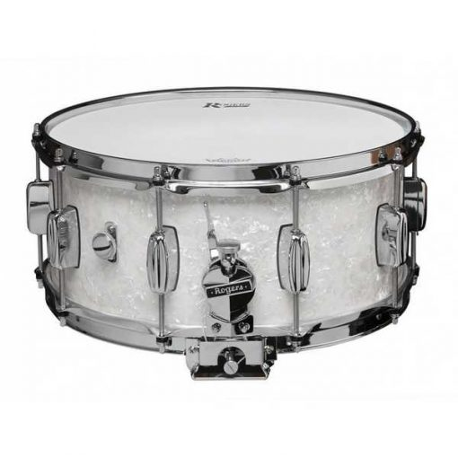 """Snare Drum Rogers 14X6,5"""" Dyna-Sonic White Marine Pearl (lugs B&B)"""