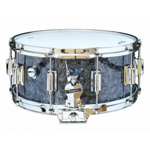 """Snare Drum Rogers 14X6,5"""" Dyna-Sonic Black Pearl (lugs Beavertail)"""