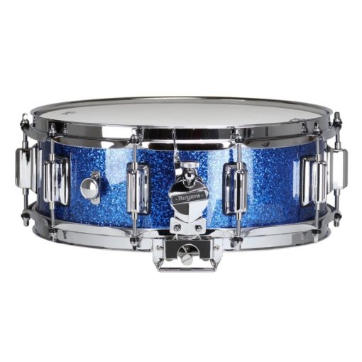 "Snare Drum Rogers 14X05"" Dyna-Sonic Blue Sparkle (lugs Beavertail)"