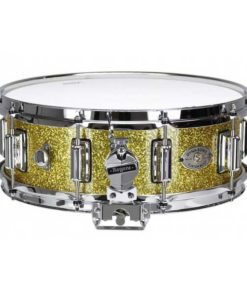 "Snare Drum Rogers 14X05"" Dyna-Sonic Gold Sparkle (lugs Beavertail)"