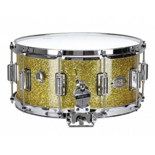 "Snare Drum Rogers 14X6,5"" Dyna-Sonic Gold Sparkle (lugs Beavertail)"