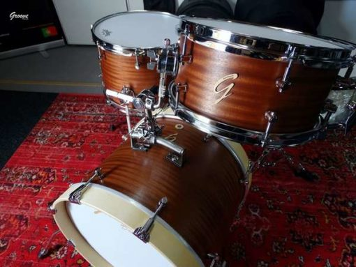 Batería Groove Drum Co - The Mahoganist Vintage Bebop