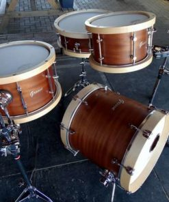 Batería Groove Drum Co - Mahogany Wood Hoops Mini 16