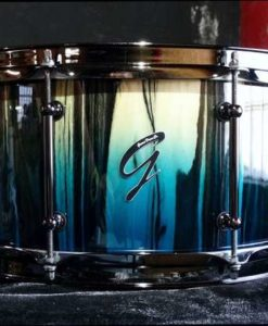 Snare Drum Groove Drum Co - King Ebony over Walnut 14x7""