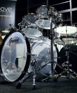 Batería Groove Drum Co - Acrylic drumset