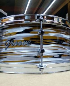 Snare Drum Groove Drum Co - Delmar gold oyster over Maple 14x6,5""