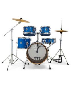 Batería Dixon Jet Set Plus Deep Blue Sparkle 16""