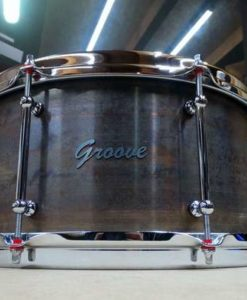 Snare Drum Groove Drum Co - Bell Rusted Brass 14x8""