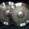 Hihat Groove Cymbals Crixus White Series