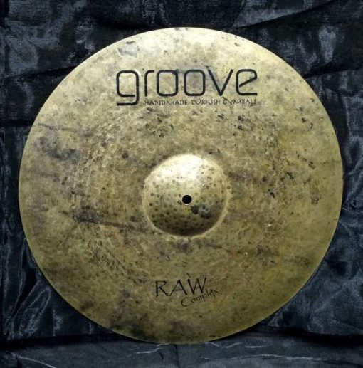 Crash Groove Cymbals Raw Complex Series