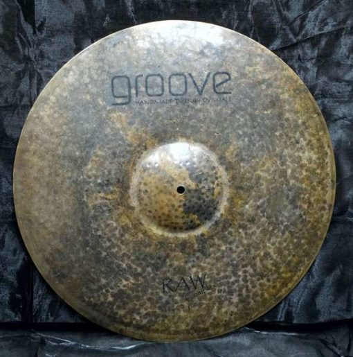 Ride Groove Cymbals Raw Complex Series
