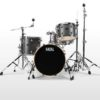"Batería Natal Arcadia Birch Series Traditional Jazz 18""-12""-14""/14"" (Grey Strata)"