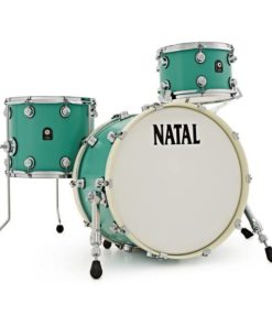 "Batería Natal Café Racer Series Studio/Stage 20""-10""-14"" (Sea Foam Green)"