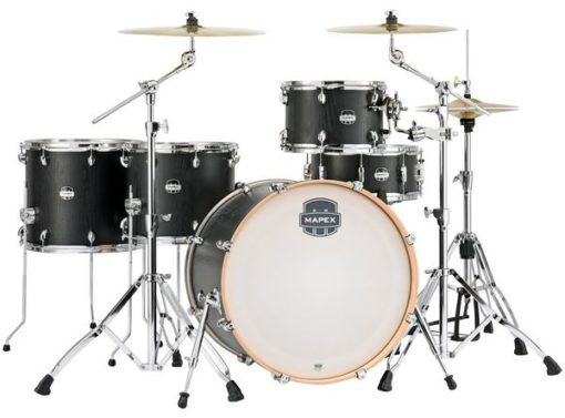 "Batería Mapex Mars Series Crossover 22""-12""-14""-16""/14"" (Nightwood)"