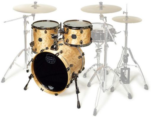 "Batería Mapex Saturn V MH Exotic Club 18""-12""-14"" (Natural Maple Burl)"