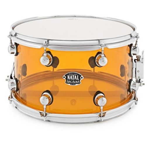 "Snare Drum Natal Arcadia Acrylic 14X8"" (orange)"
