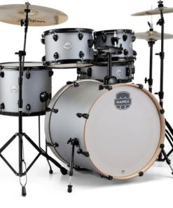 "Batería Mapex Storm Series Rock 22""-10""-12""-16""/14"" (Iron Grey)"