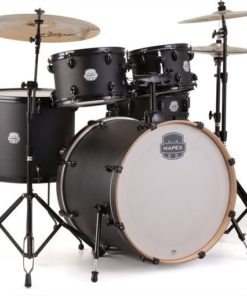 "Batería Mapex Storm Series Rock 22""-10""-12""-16""/14"" (Deep Black)"