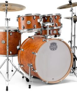 "Batería Mapex Storm Series Rock 22""-10""-12""-16""/14"" (Camphor Wood Grain)"