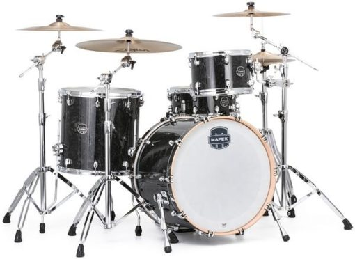"Batería Mapex Saturn V Tour Edition 22""-12""-16"" (Black Pearl)"