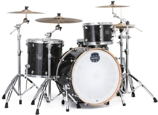 "Batería Mapex Saturn V Tour Edition 24""-13""-16"" (Black Pearl)"