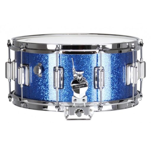 """Snare Drum Rogers 14X6,5"""" Dyna-Sonic Blue Sparkle (lugs Beavertail)"""