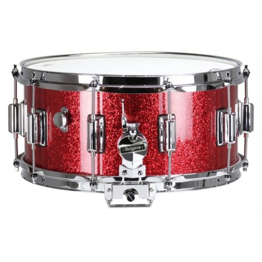 "Snare Drum Rogers 14X6,5"" Dyna-Sonic Red Sparkle (lugs Beavertail)"