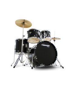 "Batería Mapex Tornado Series Rock 22""-10""-12""-16""/14"" (Black)"