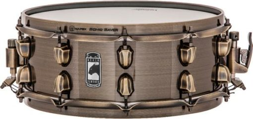"Snare Drum Mapex Black Panther ""The Brass Cat"""