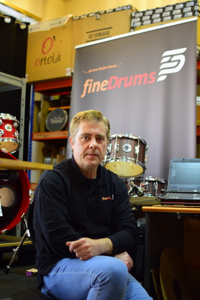 Juan Pabon CEO fineDrums