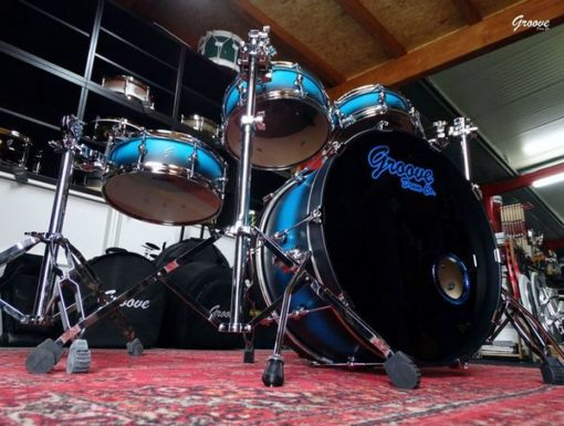 Batería Groove Drum Co - The Double Pancake Hybrid Beech/Maple
