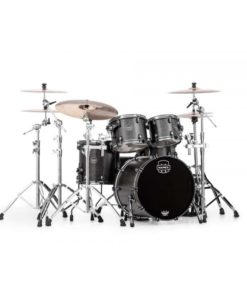 "Batería Mapex Saturn V MH Exotic Fusion 20""-10""-12""-14"" (Flat Black Maple Burl)"