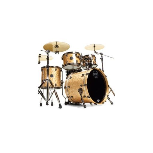 "Batería Mapex Saturn V MH Exotic Fusion 20""-10""-12""-14"" (Natural Maple Burl)"