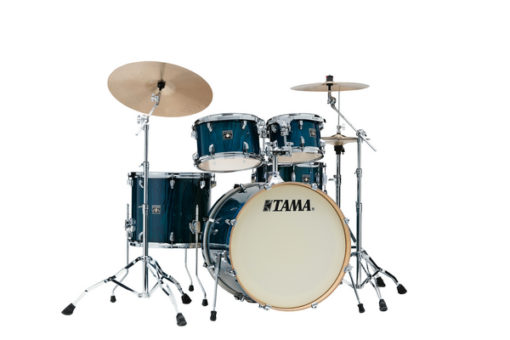 "Batería Tama Superstar Classic Maple Exotic 5pc - 22"" (Gloss Sapphire Lacebark Pine)"